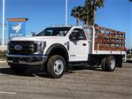 2019 F-550 Regular Cab DRW 4x2,  Scelzi Flatbed #FK0793 - photo 1