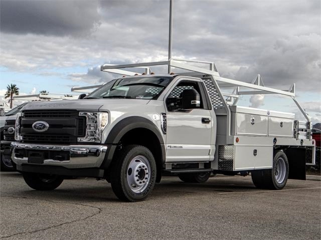 2019 F-450 Regular Cab DRW 4x2,  Scelzi Contractor Body #FK0876 - photo 1