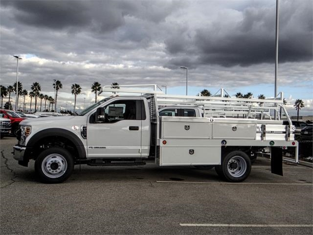 2019 F-450 Regular Cab DRW 4x2,  Scelzi Contractor Body #FK0876 - photo 3