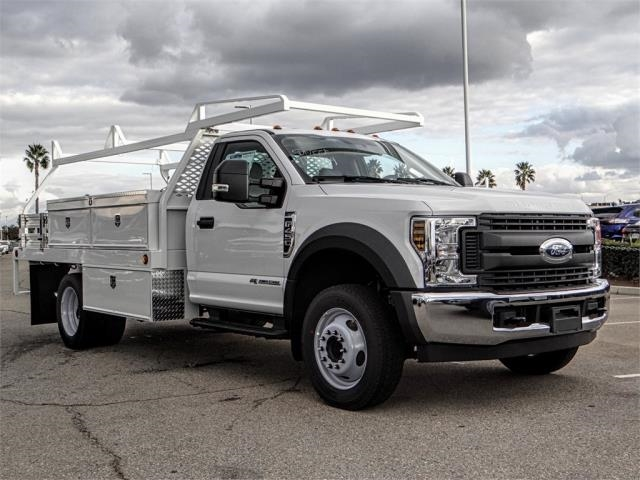2019 F-450 Regular Cab DRW 4x2,  Scelzi Contractor Body #FK0876 - photo 6