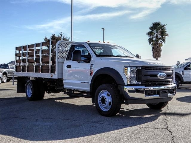 2019 F-450 Regular Cab DRW 4x2,  Scelzi Stake Bed #FK0878 - photo 6