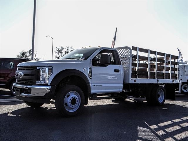 2019 F-450 Regular Cab DRW 4x2,  Scelzi Stake Bed #FK0900 - photo 1