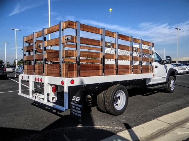 2019 F-450 Regular Cab DRW 4x2,  Scelzi Stake Bed #FK0900 - photo 4
