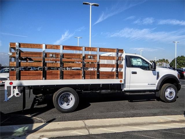 2019 F-450 Regular Cab DRW 4x2,  Scelzi Stake Bed #FK0900 - photo 5