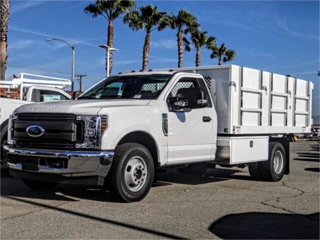 2019 F-350 Regular Cab DRW 4x2,  Harbor Master Landscape Dump #FK1018 - photo 1