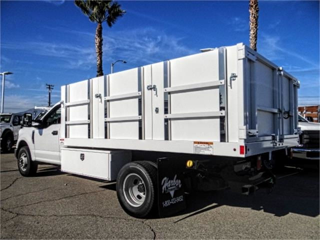 2019 F-350 Regular Cab DRW 4x2,  Harbor Master Landscape Dump #FK1018 - photo 2