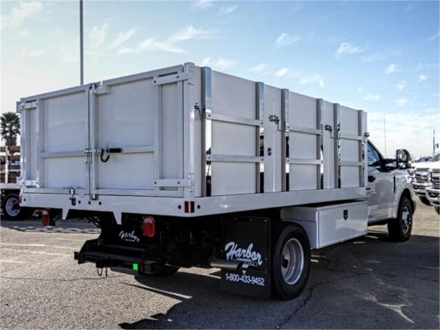 2019 F-350 Regular Cab DRW 4x2,  Harbor Landscape Dump #FK1018 - photo 4