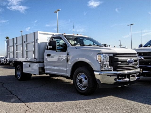 2019 F-350 Regular Cab DRW 4x2,  Harbor Master Landscape Dump #FK1018 - photo 6