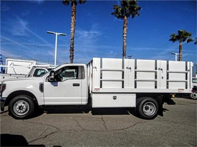 2019 F-350 Regular Cab DRW 4x2,  Harbor Master Landscape Dump #FK1018 - photo 3