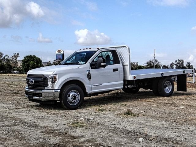 2019 F-350 Regular Cab DRW 4x2,  Scelzi Flatbed #FK1401 - photo 1