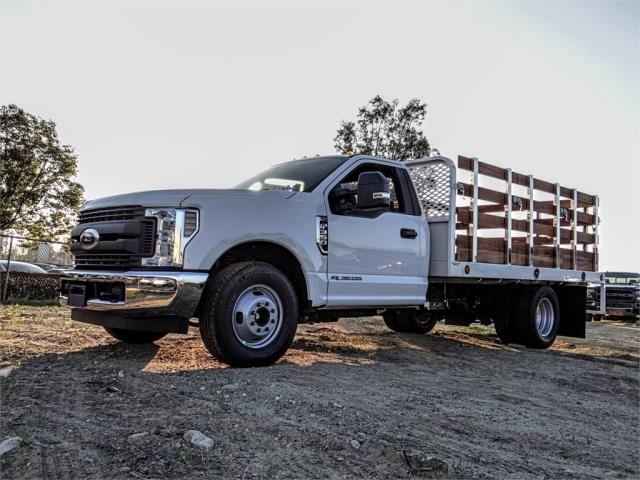 2019 F-350 Regular Cab DRW 4x2,  Scelzi Stake Bed #FK1401 - photo 1