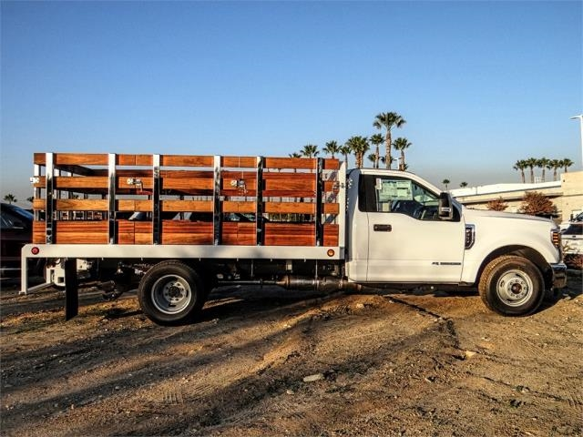 2019 F-350 Regular Cab DRW 4x2,  Scelzi Stake Bed #FK1401 - photo 5