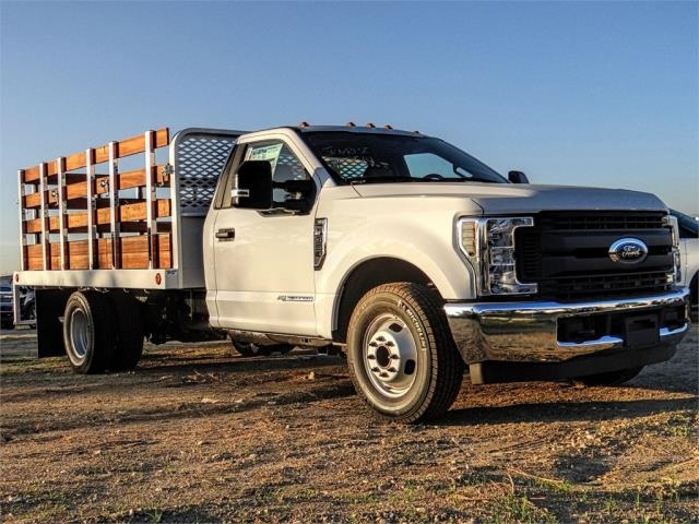 2019 F-350 Regular Cab DRW 4x2,  Scelzi Stake Bed #FK1401 - photo 6