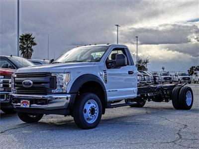 2019 F-550 Regular Cab DRW 4x2,  Cab Chassis #FK1465 - photo 1