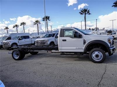 2019 F-550 Regular Cab DRW 4x2,  Cab Chassis #FK1465 - photo 5