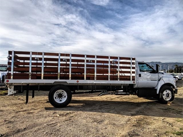2019 F-650 Regular Cab DRW 4x2,  Scelzi Stake Bed #FK1579 - photo 5