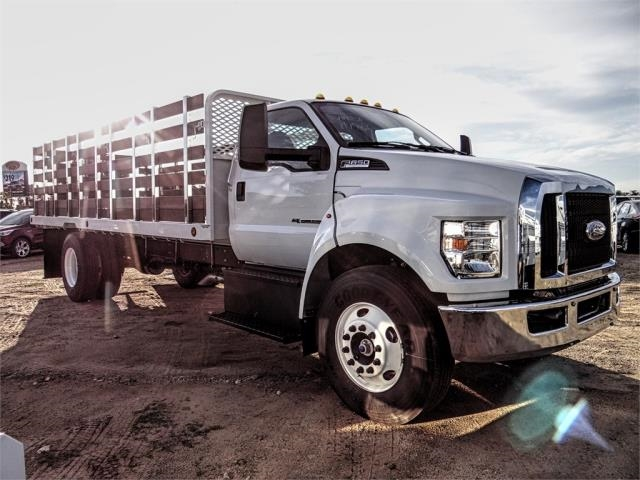 2019 F-650 Regular Cab DRW 4x2,  Scelzi Stake Bed #FK1579 - photo 6