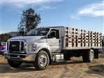 2019 F-650 Regular Cab DRW 4x2,  Scelzi Stake Bed #FK1579 - photo 1