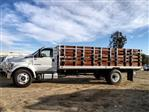 2019 F-650 Regular Cab DRW 4x2,  Scelzi SFB Stake Bed #FK1579 - photo 3