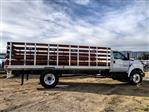 2019 F-650 Regular Cab DRW 4x2,  Scelzi SFB Stake Bed #FK1579 - photo 5