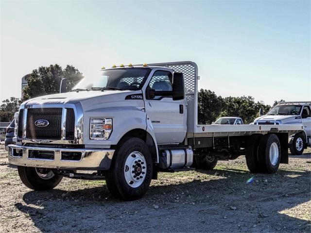 2019 F-650 Regular Cab DRW 4x2,  Scelzi Flatbed #FK1580 - photo 1
