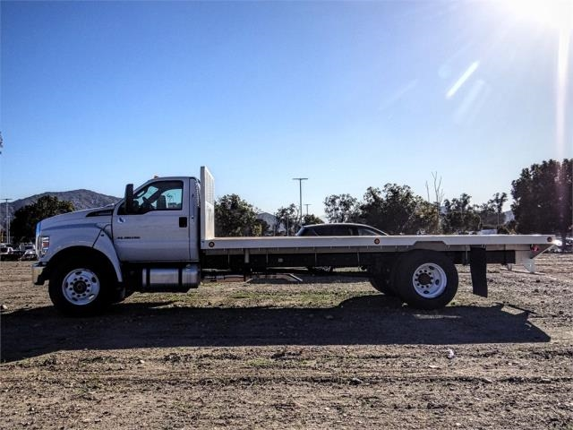 2019 F-650 Regular Cab DRW 4x2,  Scelzi Flatbed #FK1580 - photo 3