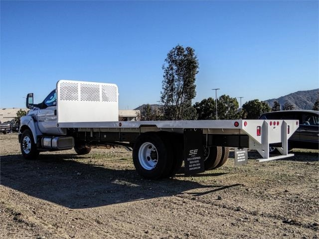 2019 F-650 Regular Cab DRW 4x2,  Scelzi Flatbed #FK1580 - photo 2