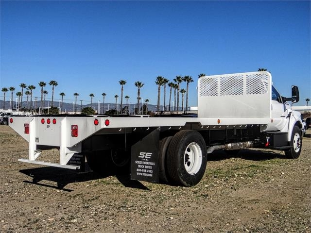 2019 F-650 Regular Cab DRW 4x2,  Scelzi Flatbed #FK1580 - photo 4
