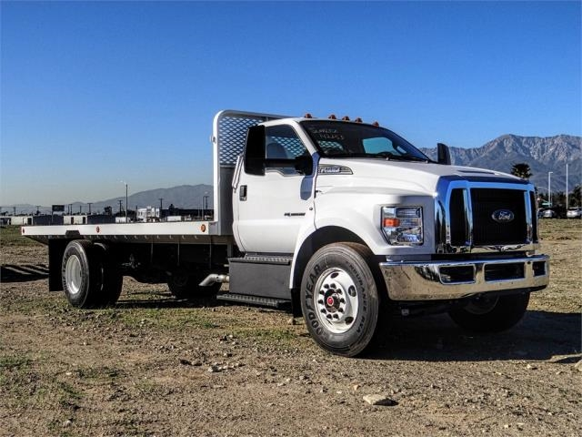 2019 F-650 Regular Cab DRW 4x2,  Scelzi Flatbed #FK1580 - photo 6