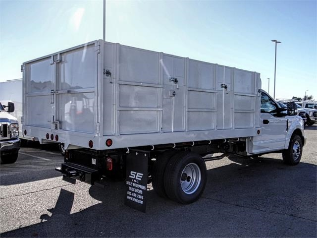 2019 F-350 Regular Cab DRW 4x2,  Scelzi Landscape Dump #FK1581 - photo 4