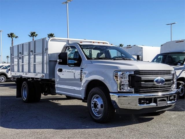 2019 F-350 Regular Cab DRW 4x2,  Scelzi Landscape Dump #FK1581 - photo 6
