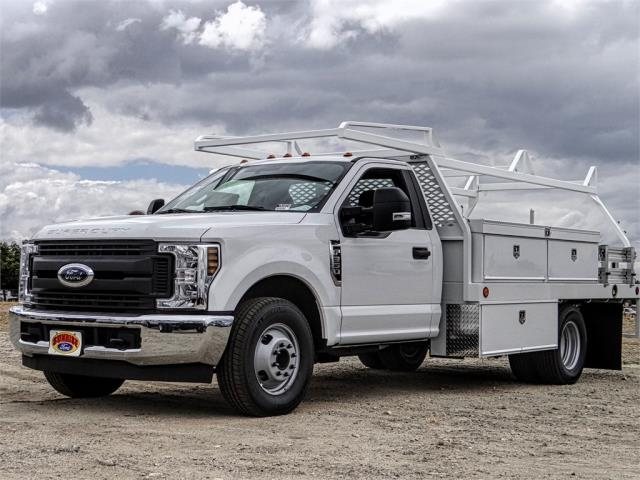 2019 F-350 Regular Cab DRW 4x2,  Scelzi Contractor Body #FK1614 - photo 1
