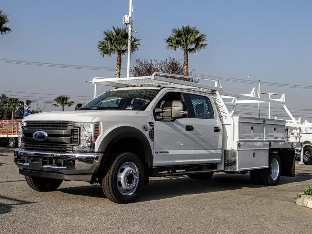 2019 F-450 Crew Cab DRW 4x2,  Scelzi Contractor Body #FK1674 - photo 1