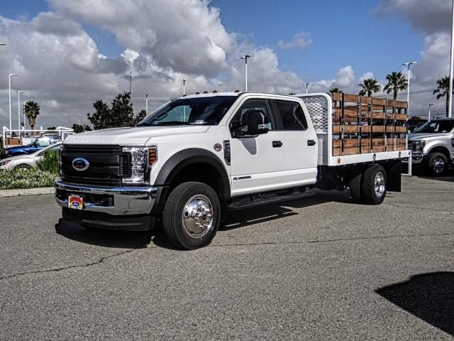 2019 F-550 Crew Cab DRW 4x4,  Scelzi Stake Bed #FK1930 - photo 1