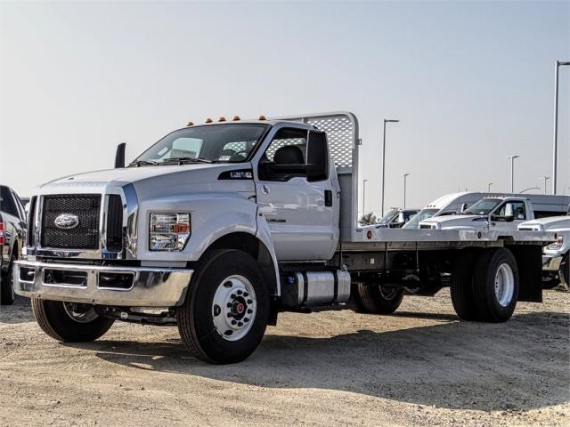 2019 F-650 Regular Cab DRW 4x2,  Scelzi Flatbed #FK1953 - photo 1