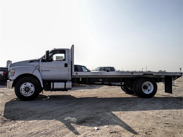 2019 F-650 Regular Cab DRW 4x2,  Scelzi Flatbed #FK1953 - photo 3