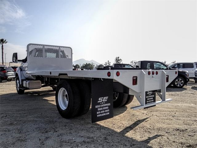 2019 F-650 Regular Cab DRW 4x2,  Scelzi Flatbed #FK1953 - photo 2