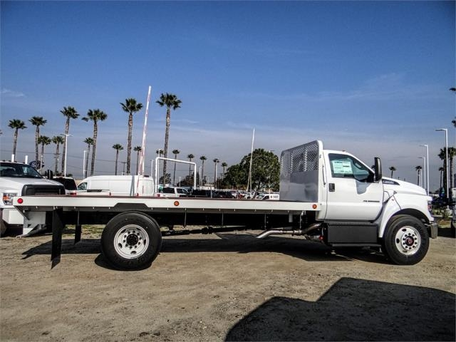2019 F-650 Regular Cab DRW 4x2,  Scelzi Flatbed #FK1953 - photo 5