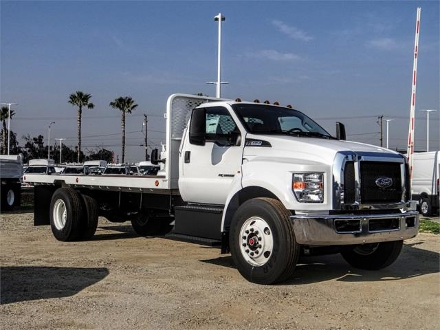 2019 F-650 Regular Cab DRW 4x2,  Scelzi Flatbed #FK1953 - photo 6