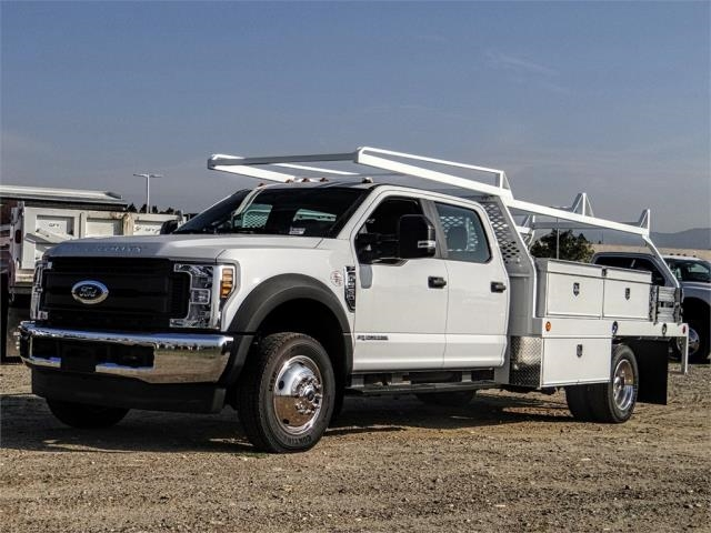 2019 F-550 Crew Cab DRW 4x4,  Scelzi Contractor Body #FK1954 - photo 1