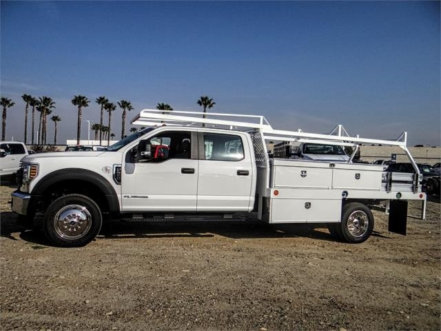 2019 F-550 Crew Cab DRW 4x4,  Scelzi Contractor Body #FK1954 - photo 3