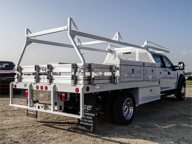2019 F-550 Crew Cab DRW 4x4,  Scelzi Contractor Body #FK1954 - photo 4