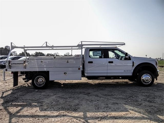 2019 F-550 Crew Cab DRW 4x4,  Scelzi Contractor Body #FK1954 - photo 5