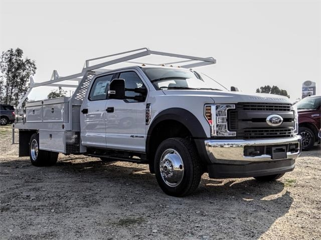 2019 F-550 Crew Cab DRW 4x4,  Scelzi Contractor Body #FK1954 - photo 6