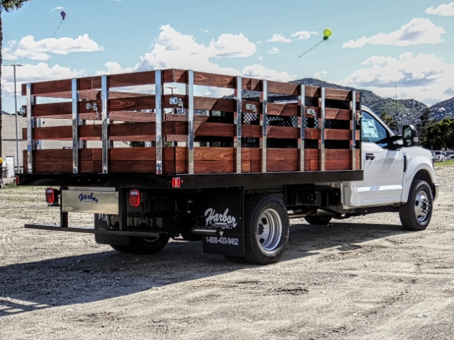 2019 F-350 Regular Cab DRW 4x2,  Harbor Stake Bed #FK2028 - photo 6