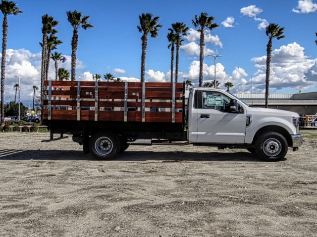 2019 F-350 Regular Cab DRW 4x2,  Harbor Stake Bed #FK2028 - photo 7