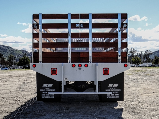2019 F-650 Regular Cab DRW 4x2,  Scelzi Stake Bed #FK2095 - photo 4