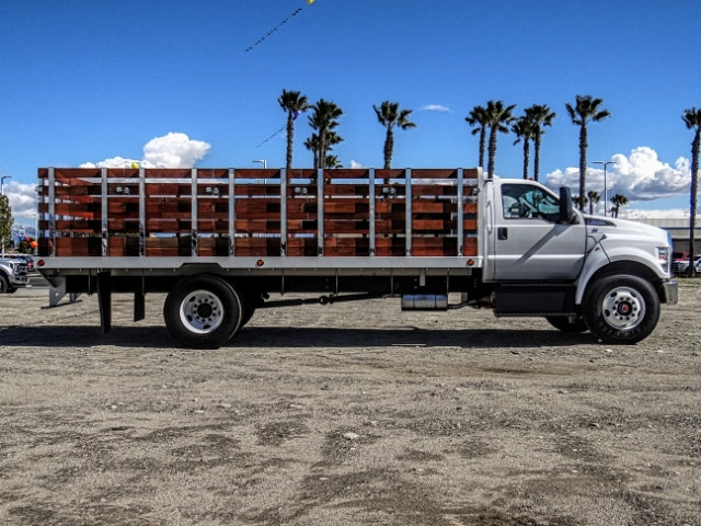 2019 F-650 Regular Cab DRW 4x2,  Scelzi Stake Bed #FK2095 - photo 6