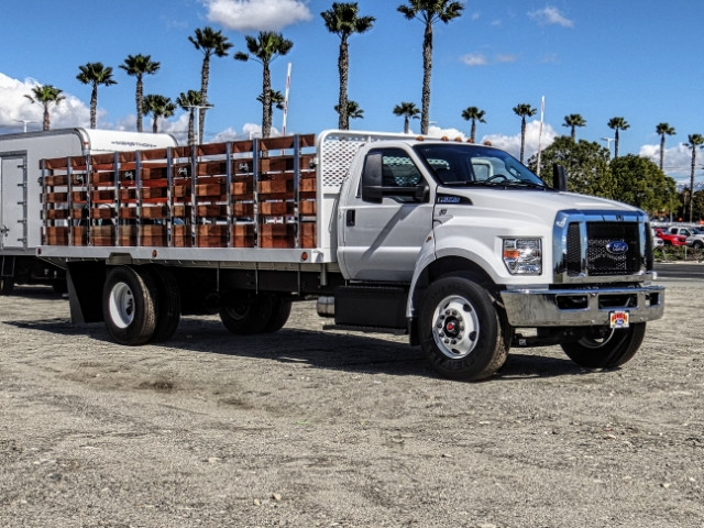 2019 F-650 Regular Cab DRW 4x2,  Scelzi Stake Bed #FK2095 - photo 7