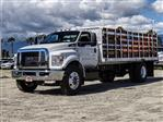 2019 F-650 Regular Cab DRW 4x2,  Scelzi Stake Bed #FK2095 - photo 1
